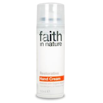 SLEVA 40% EXP. 6/18 Faith in Nature povzbuzující krém na ruce 50ml Hypoalergenní