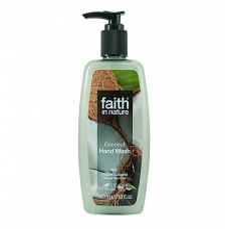 SLEVA 50% EXPIRACE Faith in Nature tekuté mýdlo s kokosovým olejem