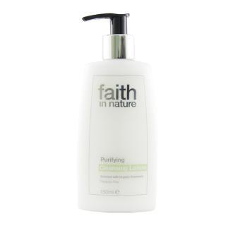 SLEVA 50% POŠKOZENÉ  Faith in Nature přírodní čistící pleťové mléko HA 150ml