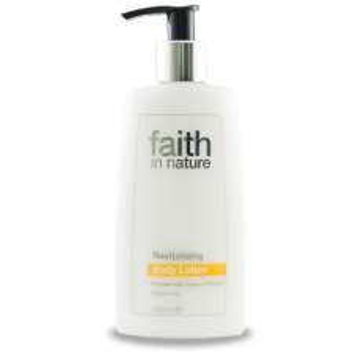 SLEVA 40% EXPIRACE Faith in Nature přírodní revitalizační tělové mléko HA  150ml