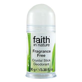 SLEVA 30% Faith in Nature přírodní tuhý deodorant Crystal 100g