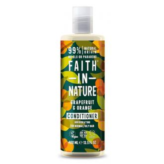 SLEVA 15% POŠKOZENÉ Faith in Nature přírodní kondicioner Grapefruit&Pomeranč 400ml