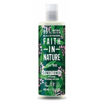 SLEVA 15% POŠKOZENÉ Faith in Nature přírodní kondicioner TeaTree 400ml