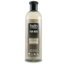 Faith For Men šampon BIO zázvor/limeta 250ml