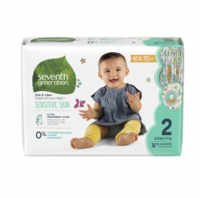 SEVENTH Generation pleny Mini 2 (5-8 kg) 32 ks HYPOALERGENNÍ