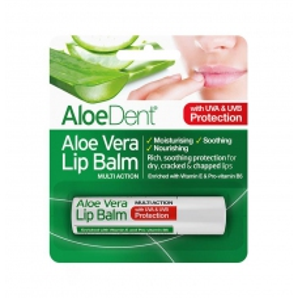 Aloe Dent balzám na rty s pravým Aloe Vera