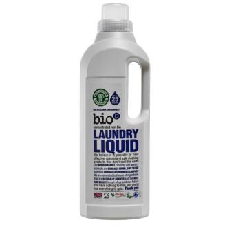 Tekutý prací gel bez vůně 1 litr - značka Bio-D - 25 dávek