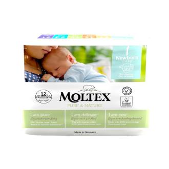 Dětské pleny Moltex Pure & Nature Newborn 2 - 4 kg (22 ks)