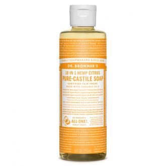 Dr. Bronner´s Tekuté BIO univerzální mýdlo ALL-ONE, Citrus 236 ml