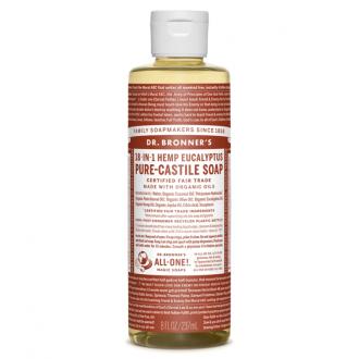 Dr. Bronner´s Tekuté BIO univerzální mýdlo ALL-ONE, Eucalyptus 236 ml