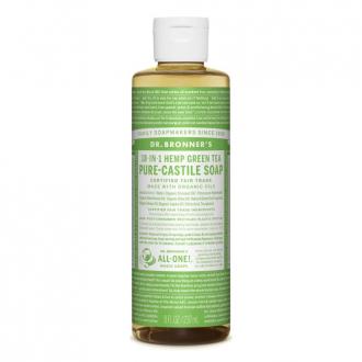 Dr. Bronner´s Tekuté BIO univerzální mýdlo ALL-ONE, Green Tea 236 ml