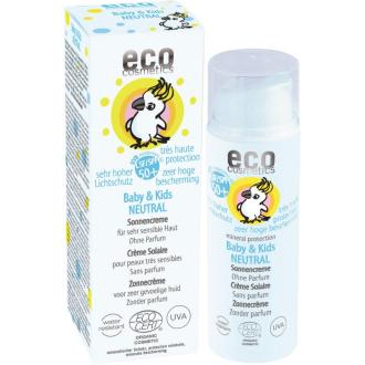 Eco cosmetics dětský opalovací krém neutral 50 SPF 50ml