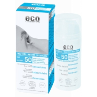 Eco cosmetics opalovací krém neutral 50 SPF, 100ml