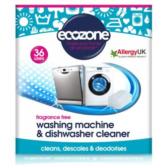 Ecozone čistič myček a praček 36ks