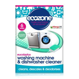 Ecozone  čistící tablety pro pračky i myčky eukalyptus - 6 tablet
