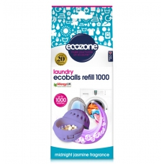 Ecozone Ecoballs - jasmín - náhradní náplň 1000 praní