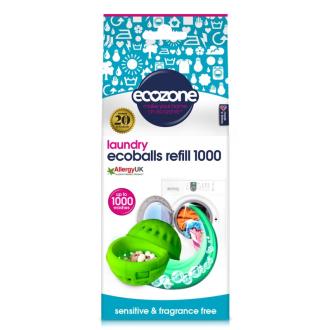 Ecozone Ecoballs - Sensitive náhradní náplň 1000 praní