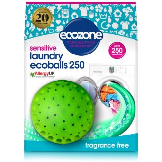 Ecozone Ecoballs 250 praní - Sensitive