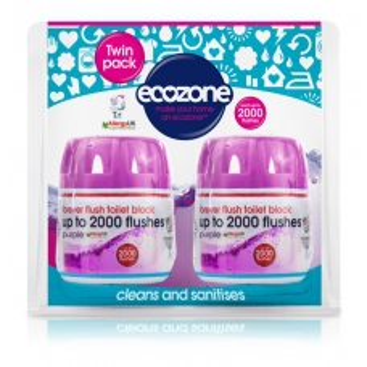 Ecozone osvěžovač a čistič WC DUO PACK - indigo