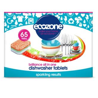Ecozone tablety do myčky Brilliance vše v jednom 65ks