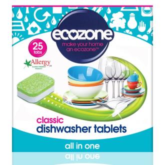 Ecozone tablety do myčky Classic 25ks
