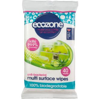 Ecozone univerzální dezinfekční úklidové ubrousky 40ks