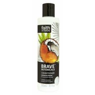 Faith - BRAVE hydratační přírodní kondicionér Kokos/Plumérie 250ml