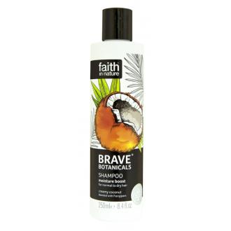 BRAVE hydratační přírodní šampon Kokos/Plumérie