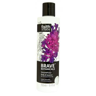 Faith - BRAVE přírodní šampon Levandule/Jasmín - objem a pružnost 250ml
