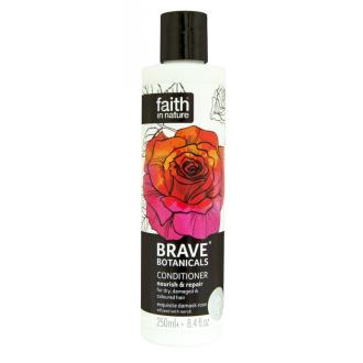 Faith - BRAVE revitalizační přírodní kondicionér Růže & Neroli & Argánie 250ml