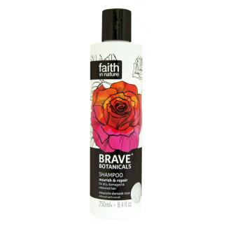 Faith - BRAVE revitalizační přírodní šampon Růže & Neroli & Argánie 250ml