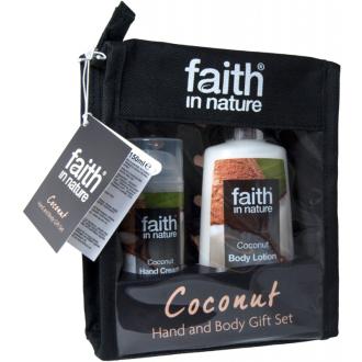 Faith in Nature - dárková sada v taštičce kokos 2ks