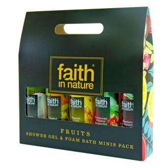 Faith in Nature - premiová dárková koupelová sada 5x100ml
