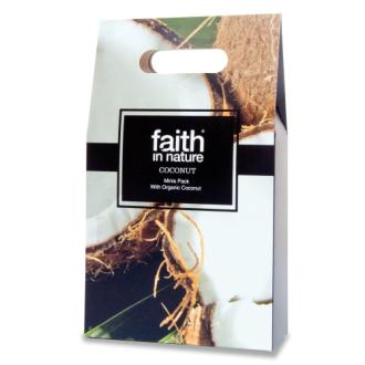 Faith in Nature - dárková vlasová a koupelová sada Kokos 3x100ml