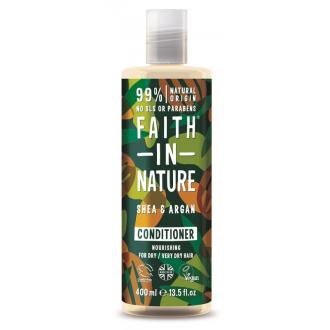 Faith in Nature přírodní kondicionér argan a bambucké máslo
