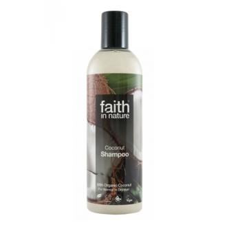 Faith in Nature přírodní šampon s BIO kokosovým olejem 250ml