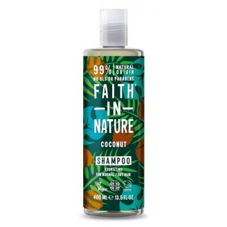 Faith in Nature přírodní šampon s BIO kokosovým olejem 400ml