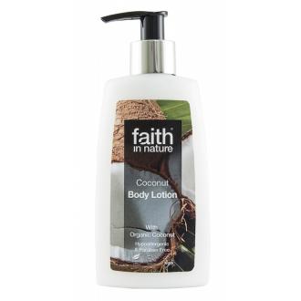 Faith in Nature přírodní BIO kokosové tělové mléko HA 150ml
