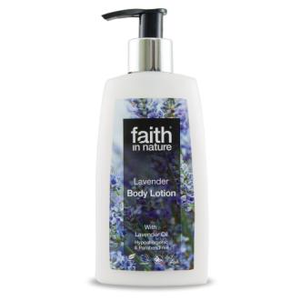Faith in Nature přírodní levandulové tělové mléko HA 150ml