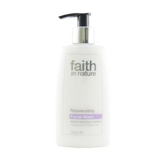 Faith in Nature přírodní omlazující čistící emulze na obličej HA 150ml