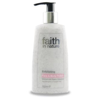 Faith in Nature přírodní peeling na obličej a tělo HA 150ml