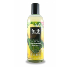 Faith in Nature přírodní šampon proti lupům Citrón & Tea Tree 250ml