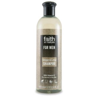 Faith For Men šampon BIO zázvor/limeta 250ml