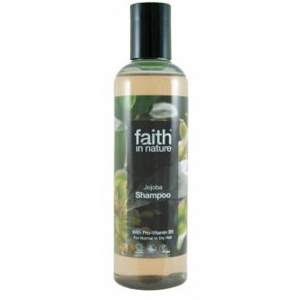 Faith in Nature přírodní šampon s jojobovým olejem 250ml