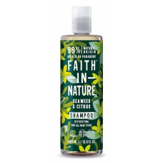 Faith in Nature přírodní šampon s mořskou řasou 400ml