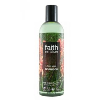 Faith in Nature přírodní šampon s Aloe Vera 250ml