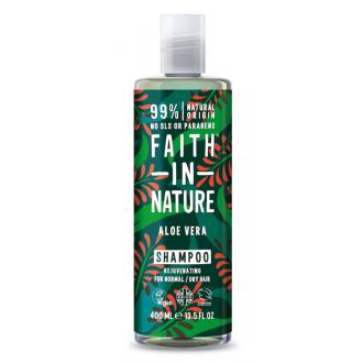 Faith in Nature přírodní šampon s Aloe Vera 400ml