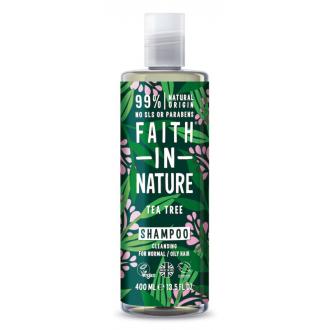 Faith in Nature přírodní šampon TeaTree 400ml