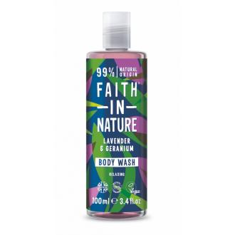 Faith in Nature přírodní sprchový gel Levandule 100ml