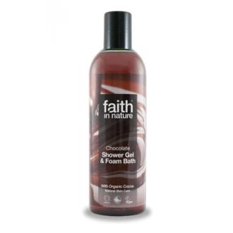 Faith in Nature přírodní sprchový gel BIO Čokoláda 250ml